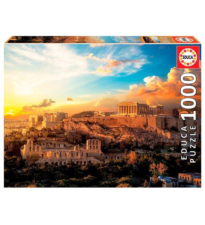 Image of Educa Puslespil - 1000 Brikker - Acropolis, Athen (XH175)