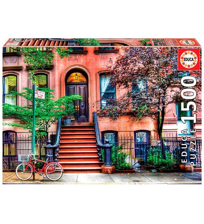 Image of Educa Puslespil - 1500 Brikker - Greenwich Village, New York (XH178)