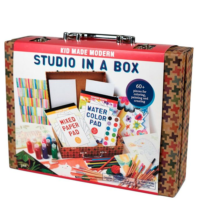 Image of Kid Made Modern Kreativt Sæt - +60 Dele - Studio in a Box (XH235)