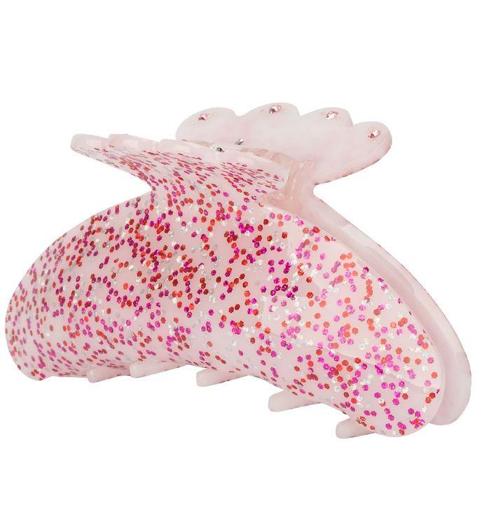 Image of Sui Ava Girl Hårklemme - Mini - Hella Confetti - Pink Glimmer (XH262)