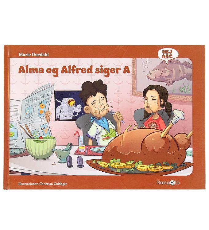 Image of Straarup & Co Bog - Hej ABC - Alma og Alfred Siger A (XH546)