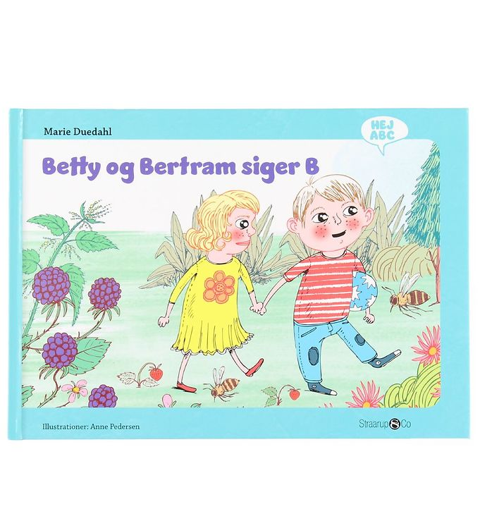Image of Straarup & Co Bog - Hej ABC - Betty og Bertram Siger B (XH547)