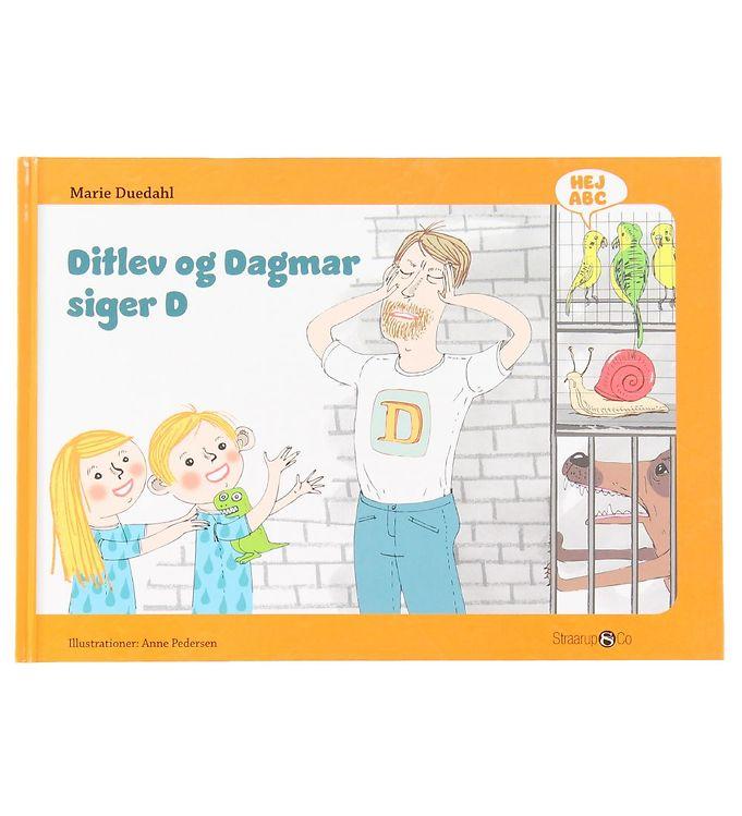 Image of Straarup & Co Bog - Hej ABC - Ditlev og Dagmar Siger D (XH549)