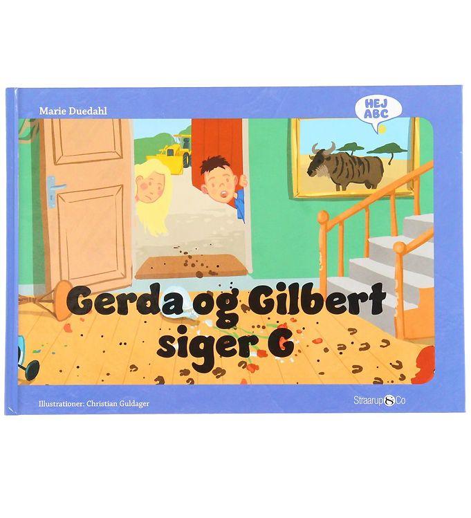 Image of Straarup & Co Bog - Hej ABC - Gerda og Gilbert Siger G (XH552)