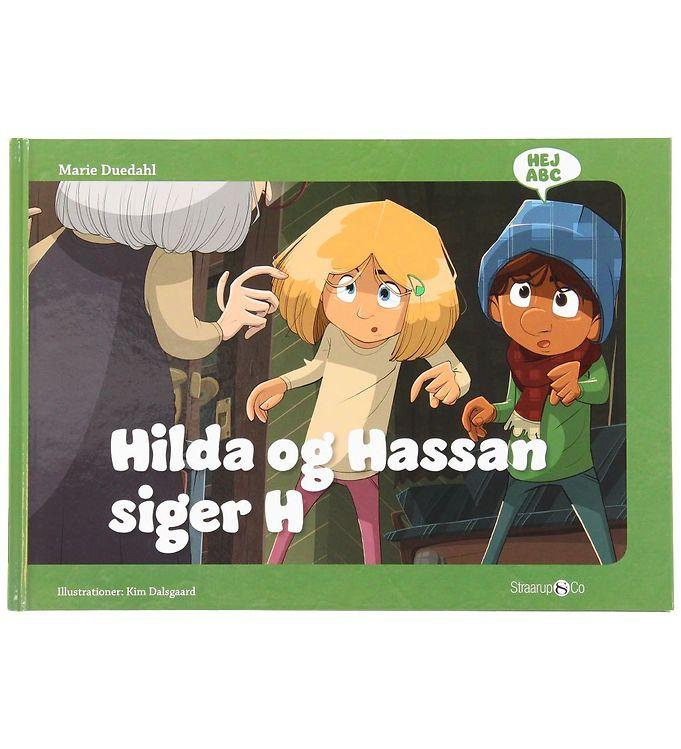Image of Straarup & Co Bog - Hej ABC - Hilda og Hassan Siger H (XH553)