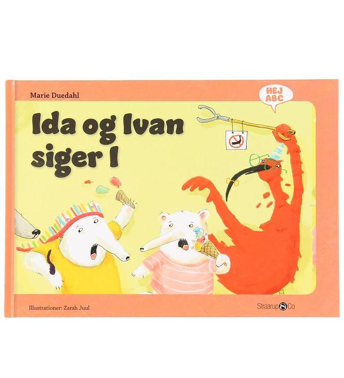 Image of Straarup & Co Bog - Hej ABC - Ida og Ivan Siger I (XH554)