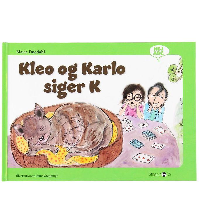 Image of Straarup & Co Bog - Hej ABC - Kleo og Karlo Siger K (XH556)