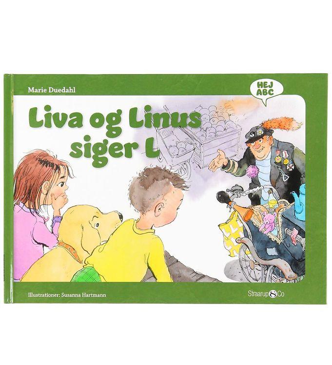 Image of Straarup & Co Bog - Hej ABC - Liva og Linus Siger L (XH557)