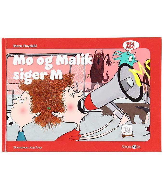 Image of Straarup & Co Bog - Hej ABC - Mø og Malik Siger M (XH558)