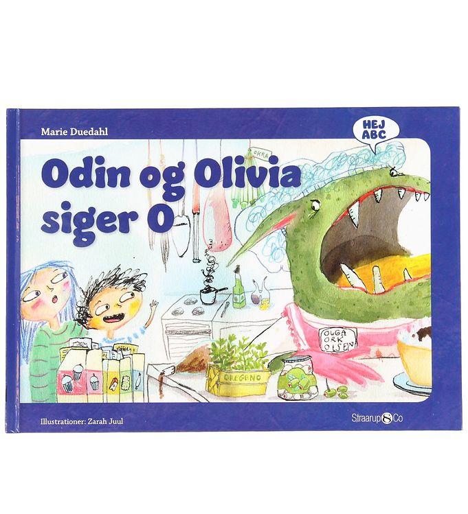 Image of Straarup & Co Bog - Hej ABC - Odin og Olivia Siger O (XH560)