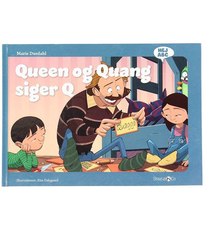Image of Straarup & Co Bog - Hej ABC - Queen og Quang Siger Q (XH562)