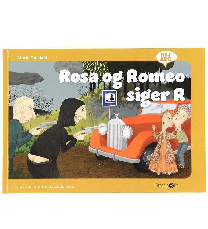 Image of Straarup & Co Bog - Hej ABC - Rosa og Romeo Siger R (XH563)