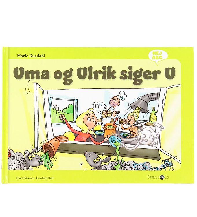 Image of Straarup & Co Bog - Hej ABC - Uma og Ulrik Siger U (XH566)