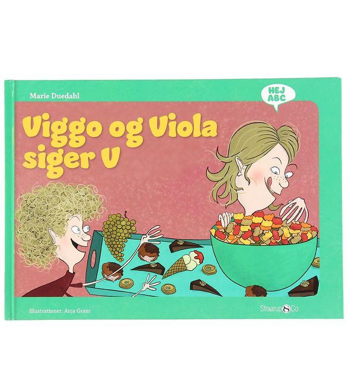 Image of Straarup & Co Bog - Hej ABC - Viggo og Viola Siger V (XH567)