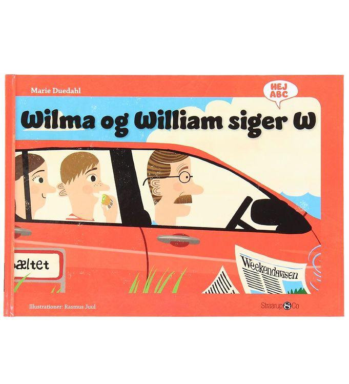 Image of Straarup & Co Bog - Hej ABC - Wilma og William Siger W (XH568)