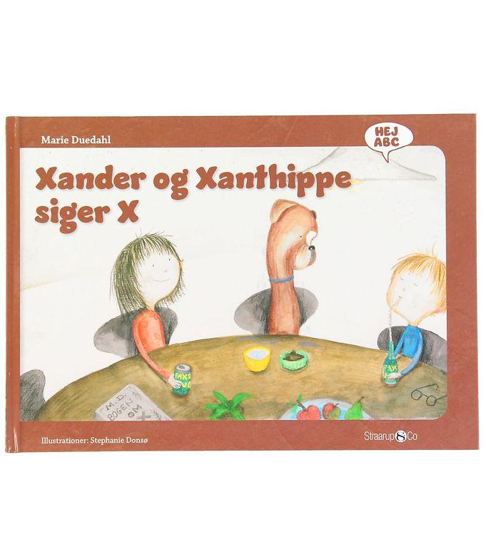 Image of Straarup & Co Bog - Hej ABC - Xander og Xanthippe Siger X (XH569)