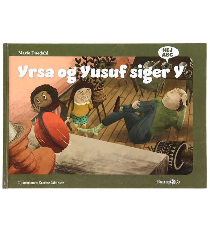 Image of Straarup & Co Bog - Hej ABC - Yrsa og Yusuf Siger Y (XH570)