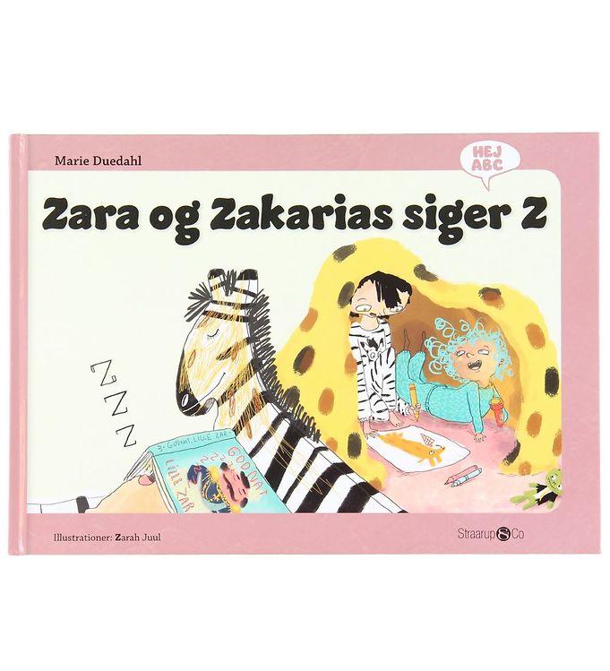 Image of Straarup & Co Bog - Hej ABC - Zara og Zakarias Siger Z (XH571)