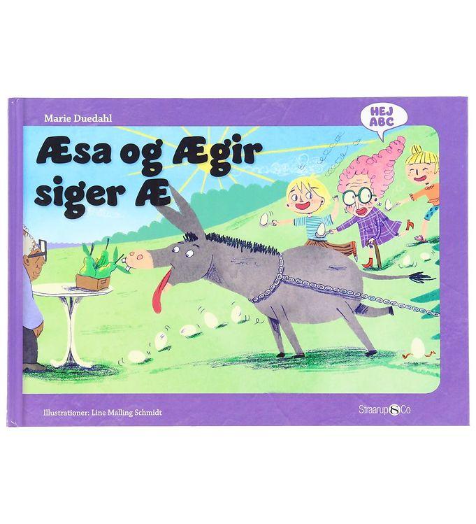 Image of Straarup & Co Bog - Hej ABC - Æsa og Ægit Siger Æ (XH572)