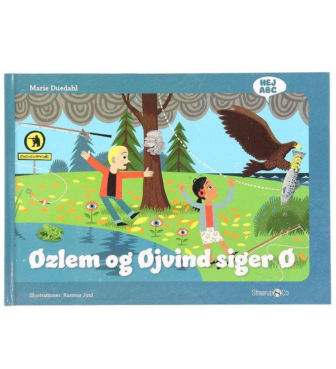Image of Straarup & Co Bog - Hej ABC - Øzlem og Øjvind Siger Ø (XH573)