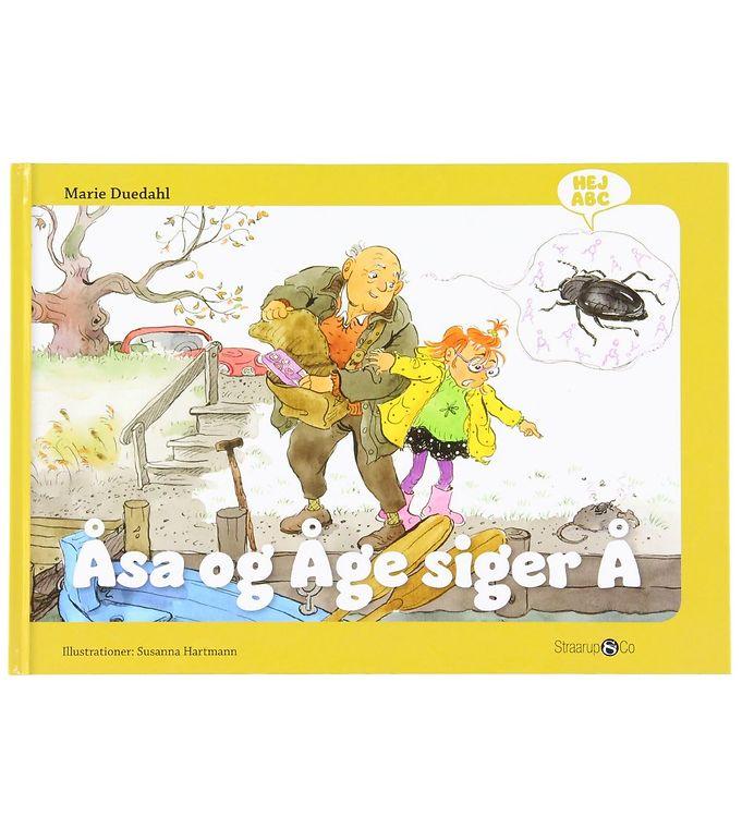 Image of Straarup & Co Bog - Hej ABC - Åsa og Åge Siger Å (XH574)