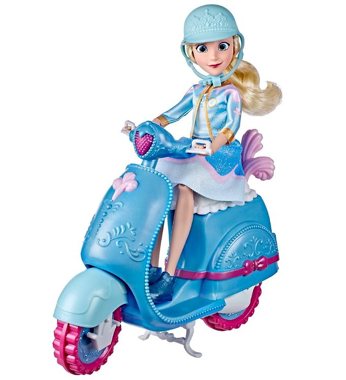 Image of Disney Princess Askepot Dukke m. Scooter - Comfy Squad (XH591)