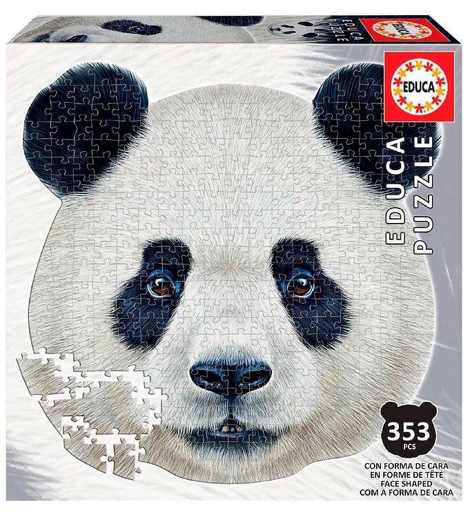 Image of Educa Puslespil - 353 Brikker - Pandahoved (XH837)