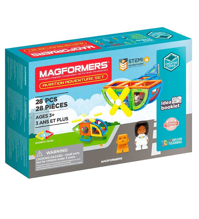 Image of Magformers Aviation Adventure Sæt - 28 dele (XH846)