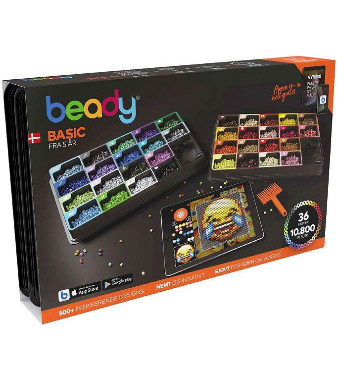 Image of Beady Basic m. Perleplader - 10.800 perler (XH848)