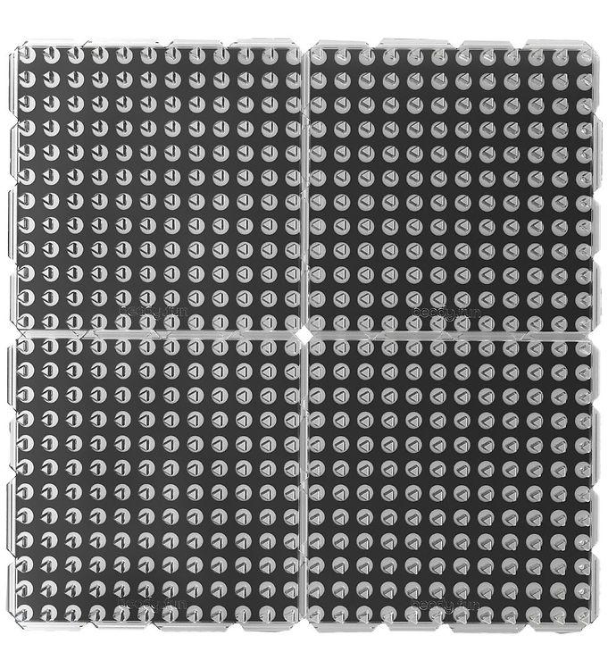 Image of Beady Perleplader - 4-pak - Kvadrat (XH871)