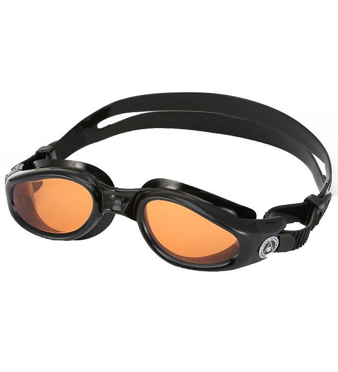 Image of Aqua Sphere Svømmebriller - Kaiman Adult - Sort/Orange (XH928)