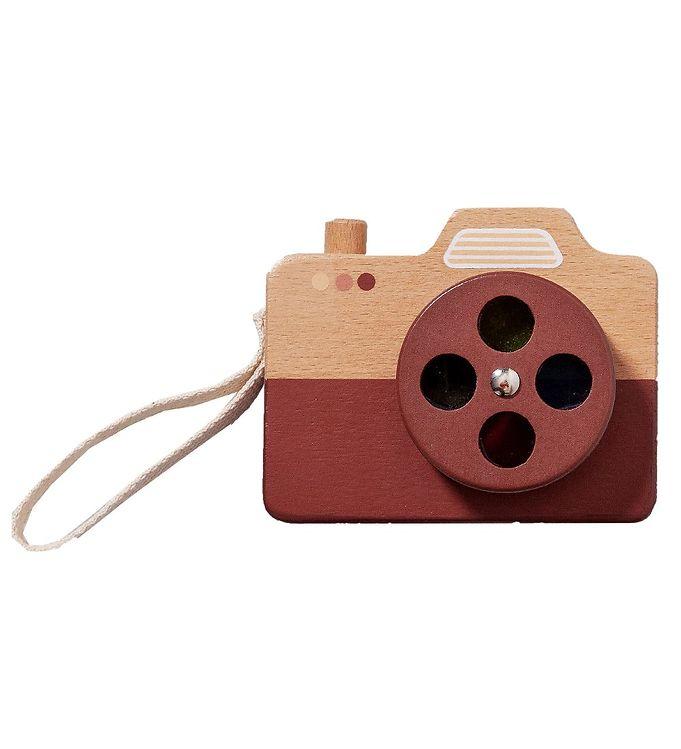 Image of Petit Monkey Kamera - Træ - Brun (XH949)