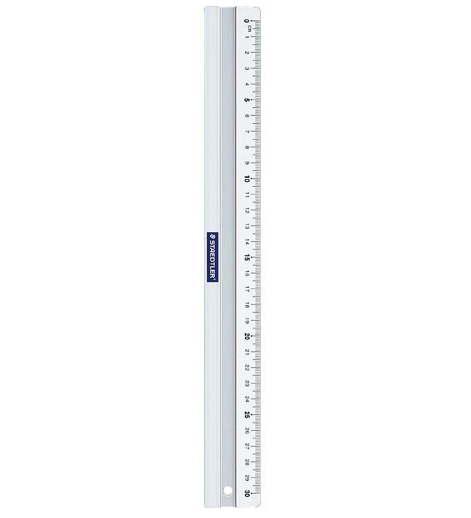 Image of Staedtler Lineal - 30 cm - Aluminium (XH993)