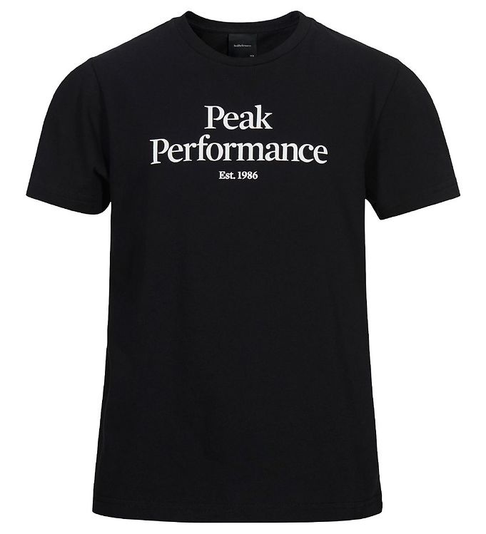 Image of Peak Perfomance T-Shirt - Sort (XI106)