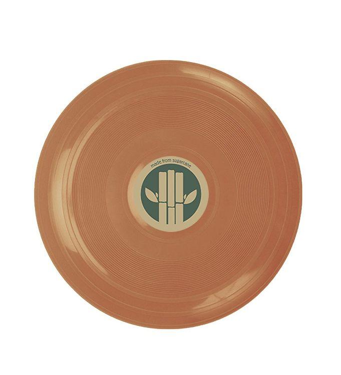 Image of Dantoy BIO Plastic Frisbee - Ø22 cm - Støvet Orange (XI139)