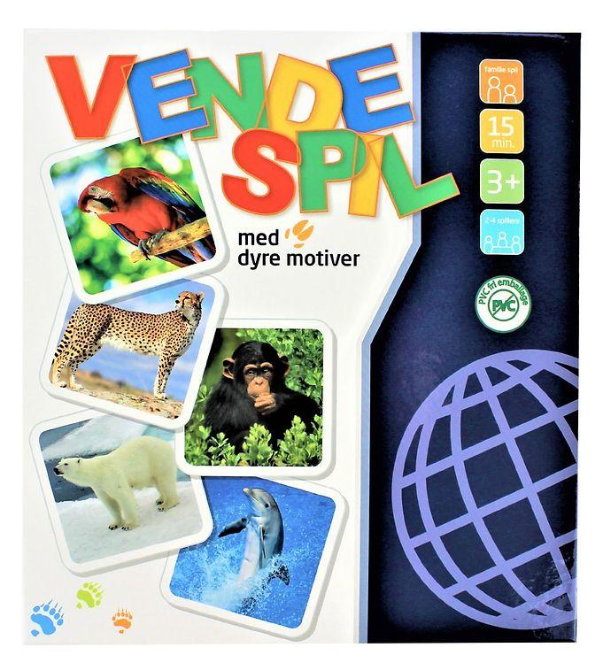 Image of Playbox Spil - Vendespil m. Vilde Dyr (XI227)