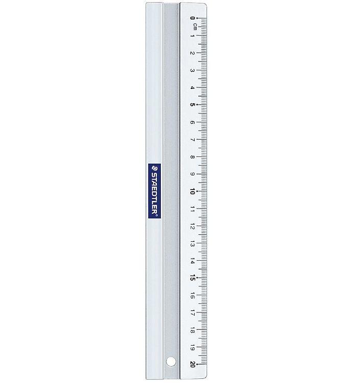 Image of Staedtler Lineal - 20 cm - Aluminium (XI575)