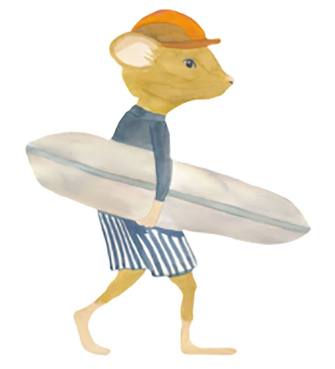 Image of That's Mine Wallsticker - Benja The Surfer (XI624)