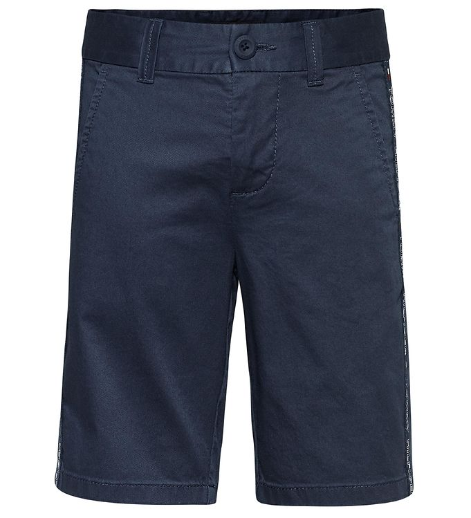 Image of Tommy Hilfiger Shorts - Tape Chino - Navy (XI910)