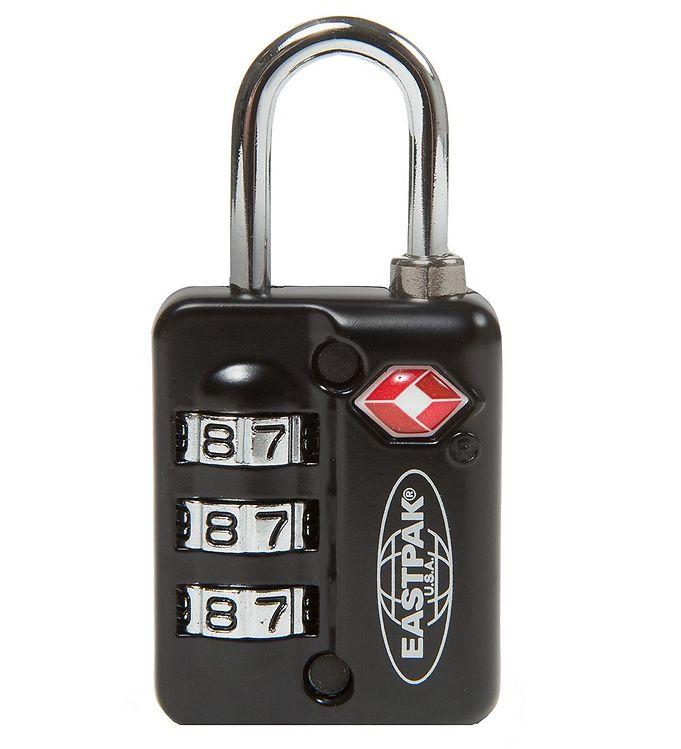 Image of Eastpak Hængelås m. Kode - Lock-it Single - Sort (YO116)