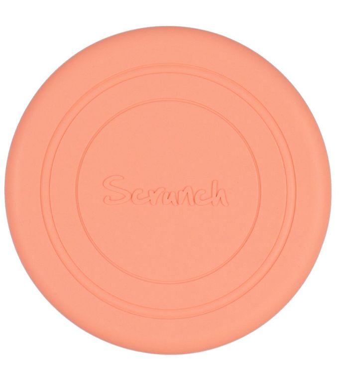 Image of Scrunch Frisbee - Silikone - Ø 18 cm - Coral (YO413)