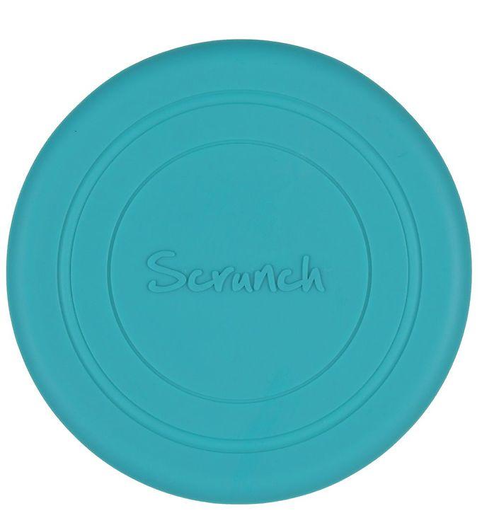 Image of Scrunch Frisbee - Silikone - Ø 18 cm - Petrol (YO414)