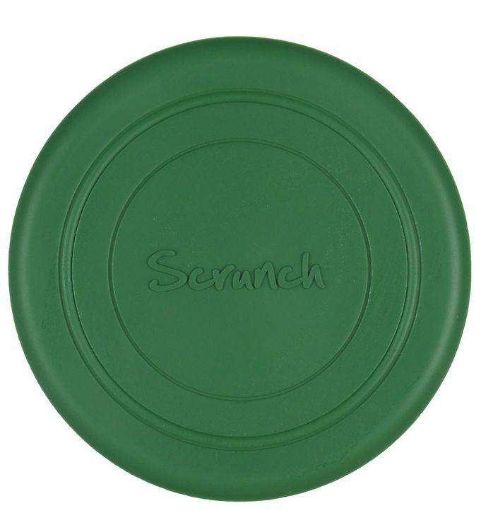 Image of Scrunch Frisbee - Silikone - Ø 18 cm - Dark Moss Green (YO416)