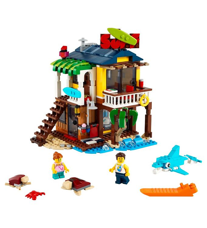 Image of LEGO Creator - Surfer-Strandhus 31118 - 3-i-1 - 564 Dele (YO680)