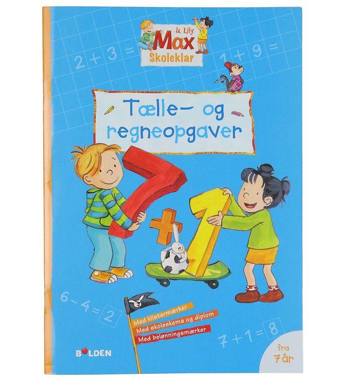 Image of Forlaget Bolden Opgavebog - Max & Lily Skoleklar: Tælle-og Regne (YO768)