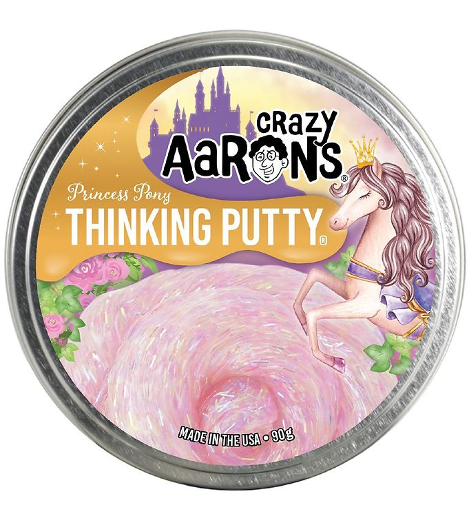 Image of Crazy Aarons Putty Slim - Ø 10 cm - Trendsetter - Pony Princess (YO769)