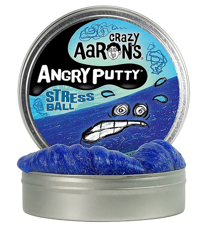 Image of Crazy Aarons Putty Slim - Ø 10 cm - Angry Putty - Stress Ball (YO770)