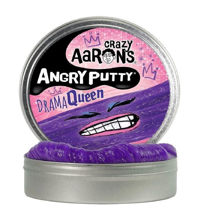 Image of Crazy Aarons Putty Slim - Ø 10 cm - Angry Putty - Drama Queen (YO775)