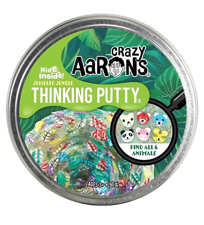 Image of Crazy Aarons Putty Slim - Ø 10 cm - Hide Inside - Jumbled Jungle (YO778)