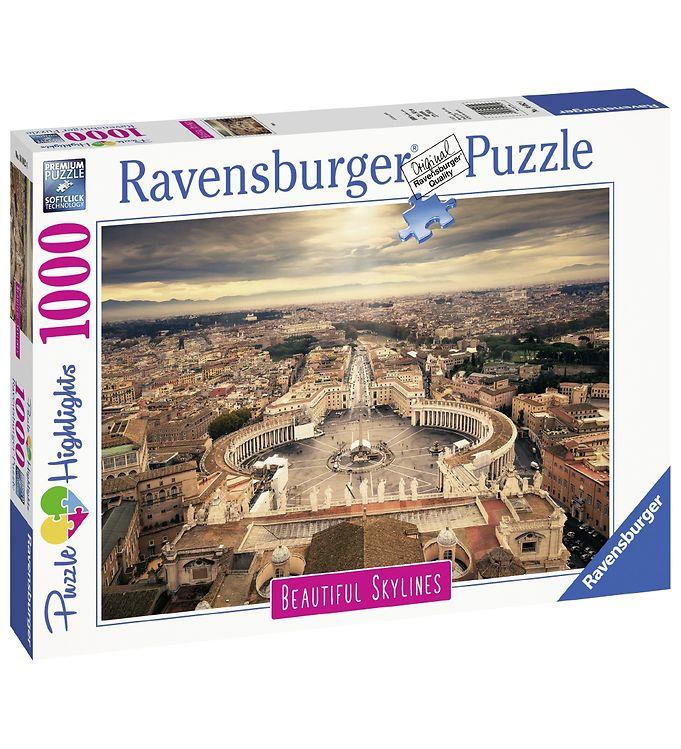Image of Ravensburger Puslespil - 1000 Brikker - Rome (YO790)